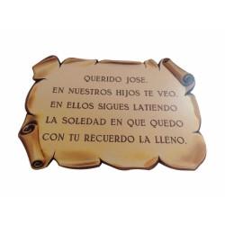 Pergamino de bronce