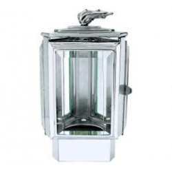 FAROL ACERO INOXIDABLE CON BASE