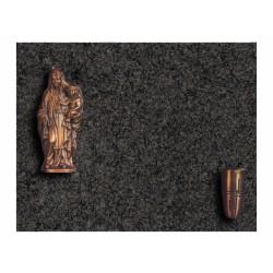 Lápida de nicho en granito Sudáfrica