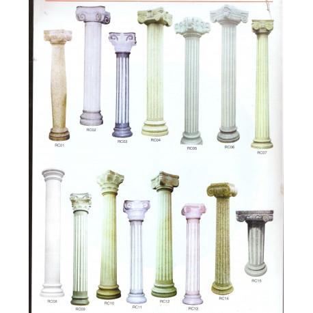 Columnas de piedra y marmol m rmoles y granitos toledo for Piedras granitos y marmoles